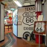 Entrance to Route 66 museum