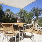 terrasse chalet corbières