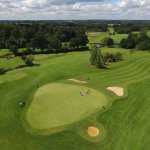 Hotel Golf Course taken with the London Beach Drone