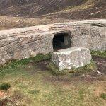 The Dwarfie Stane tomb