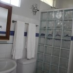 Ensuite bathrooms with hot water showers