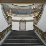 scalinata del museo