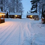 4 seasons of fun - X-C Ski, Snowmobile, Ice-Fish, play in the rec building, relax by your firepl