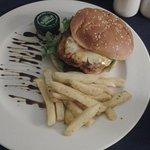 Chicken & Grilled Pineapple Burger