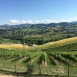 Outstanding view from the Agriturismo