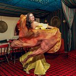 Belly dancing every Saturday night!