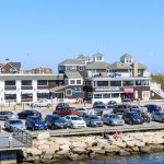 George's of Galilee viewed from the Block Island ferry