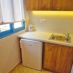 Kitchenette area - Classic Double Seaview Room - 305
