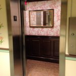the quaint (tiny) elevator