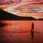 Fishing under the Midnight Sun