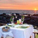 Sunset & Stars private dinner on the beach.