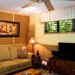 Mala Hale Bungalow living room.
