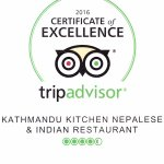 Certificate of Excellence from Trip Advisor 2016