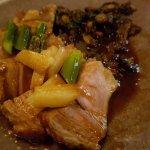 Carré de veau, shitake et asperges de Lourmarin
