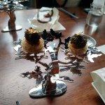 Caviar, Smoked Quail Egg, Taro Nest