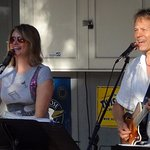 Latitude (Tom and Michelle Becker) plays Trop-Rock most Wednesday nights all summer.