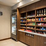 Enjoy the convenience of our Sundries w/ snacks & healthy choices