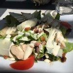 salade poulet parmesan