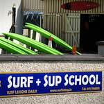 We offer surf and stand-up paddle board lessons all year. Call 085 8510 889 for more information