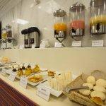 Área del comedor - Desayuno Buffet
