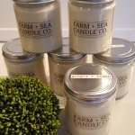 FARM + SEA CANDLES are a welcome addition to our shop...and they are made in New England!