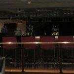 Hotel bar.