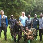 Mount Elgon Trek - the whole team