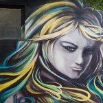 graffiti at M50