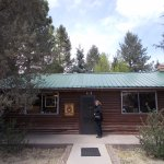 Smokey Bear Museum & Gift Shop, Capitan NM. The museum.