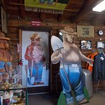 Smokey Bear Museum & Gift Shop, Capitan NM. Hi Smokey.