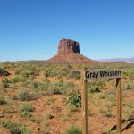 Grey Whiskers Butte