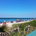 Lake Worth Pier, at beach across A1A from hotel