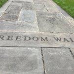 Freedom walk path