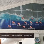 Dive sites surrounding Akumal