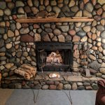 Anniversary Weekend on Lake Superior - Beautiful fireplace in the Gitchee Gumee chalet!