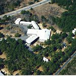 Arial photo of the motel.