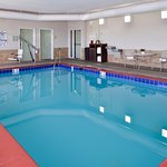 Enjoy our indoor heated pool and hot tub!