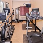 Our Fitness Center is a great place to sweat the day away!