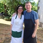 Goretti & Roy - Hosts, experienced chef and all around GREAT people