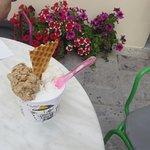 ice cream outside