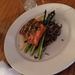 Sockeye Salmon entree - ours was very dry and overcooked
