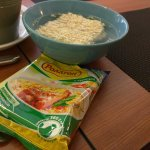 instant noodle for breakfast
