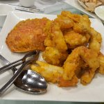 Crab fried with a salted egg yolks