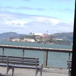 View from the restaurant - Alcatraz