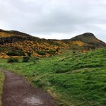 One of the hiking trails to Arthur's Seat, which is walking distance Gifford House