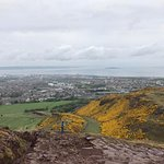View of Edinburgh from the top of Arthur's Seat