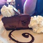 GODIVA® CHOCOLATE CHEESECAKE Layers of Flourless Godiva Chocolate Cake, Godiva Chocolate Cheesec