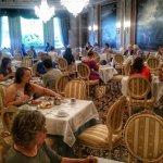Hotel Breakfast dining room.