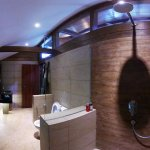 Our Villa en-suite bathrooms, spaciously appointed with luxury fittings
