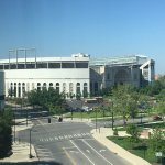 View of Ohio Stadium from our room